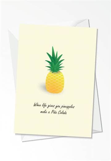 Pineapple - Kort
